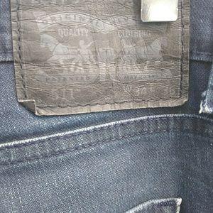 LEVI'S Jeans - 💥💥💥 LEVI'S 511 MENS DISTRESSED BLUE JEANS💥💥💥